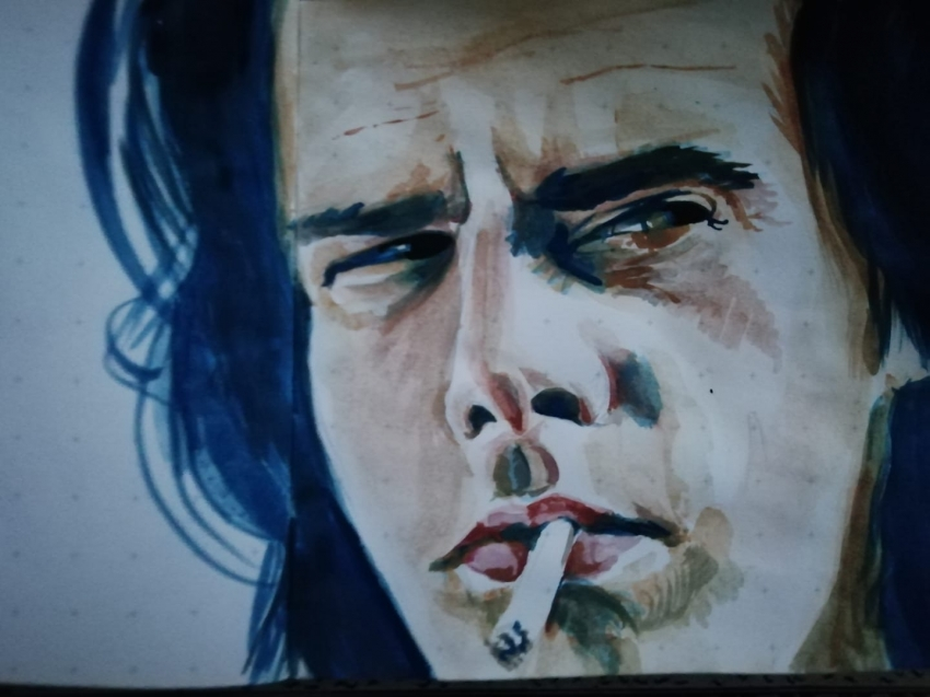 Nick Cave by Junkova14